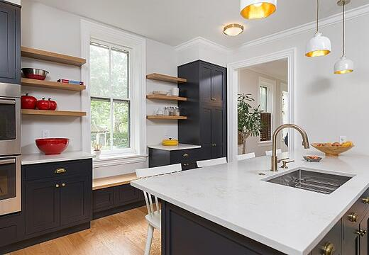 Transitional West Philadelphia Kitchen