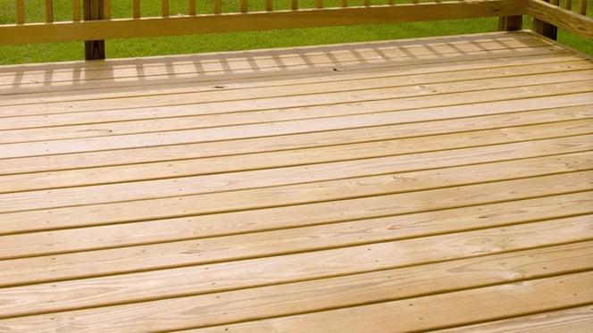 Tan Pressure-Treated Wood in Philadelphia