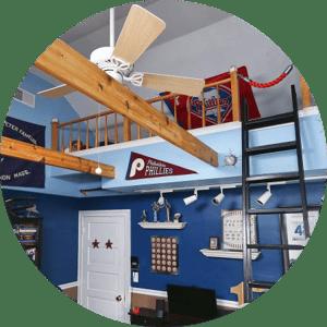 Sports Loft Bedroom - Sports Bedroom